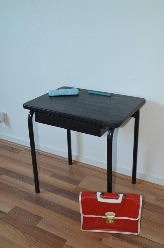 bureau 1 place noir 55 €