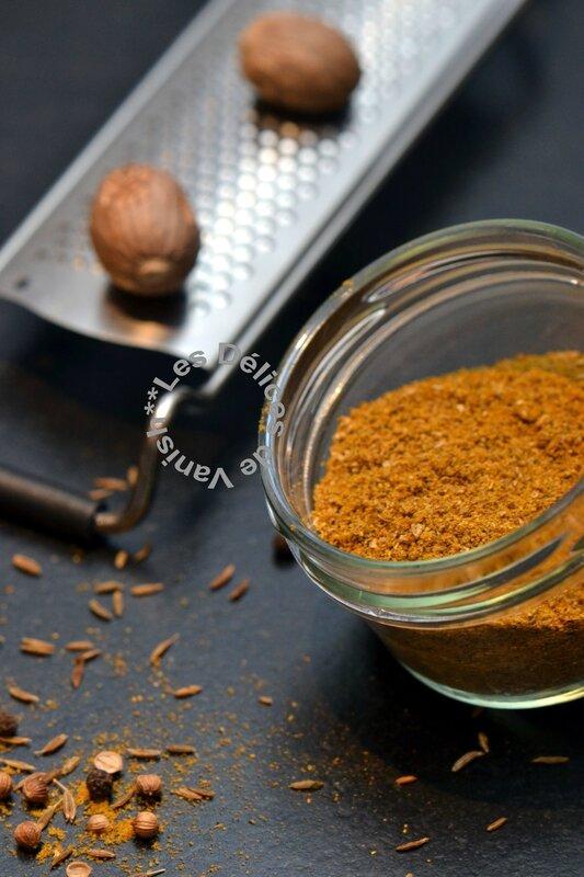 mélange épices, faire son garam masala
