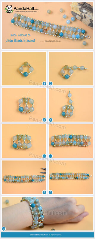 4-PandaHall-Ideas-on-Jade-Beads-Bracelet