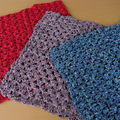 couverture crochet patchwork