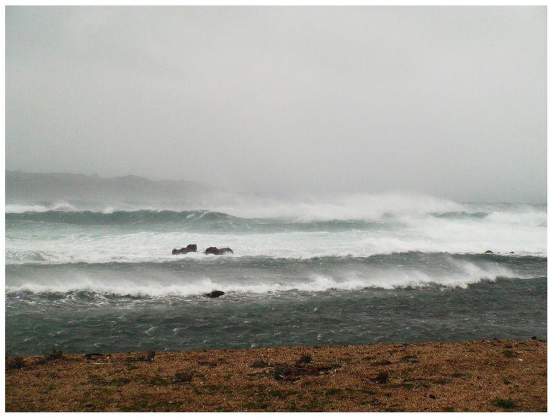 Tempête du 24 Janvier 2009, Île de Corse...