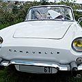 Renault caravelle 1100 cabriolet (1964-1965)