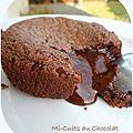 Mi-cuits au chocolat de c. michalak