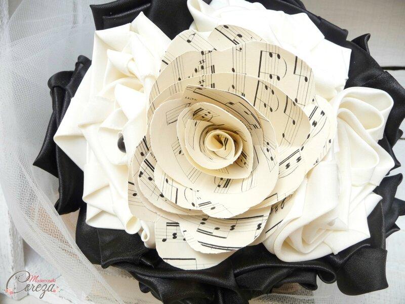 bouquet-mariage-theme-musique-noir-ivoire-partition-mademoiselle-cereza-6G