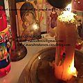Grande ceremonie de purification et de desenvoutement du medium marabout africain oiseau assou