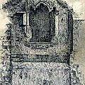 Ancien Nantes - Niche de la Bonne Vierge