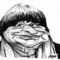 Agnès varda (croquis feutre)