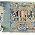 1950 1000francs recto Albert 1er - 1875-1934 - 3e Roi des Belges - Le Roi Soldat