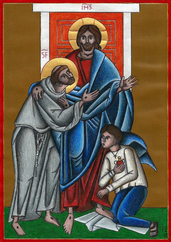 Icône de l'Engagement Franciscain