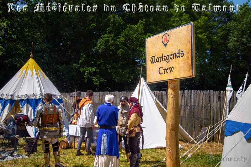 Robin wood Warlegends Crew Médiévales Château de Talmont