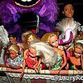 ma collection de barbie's!