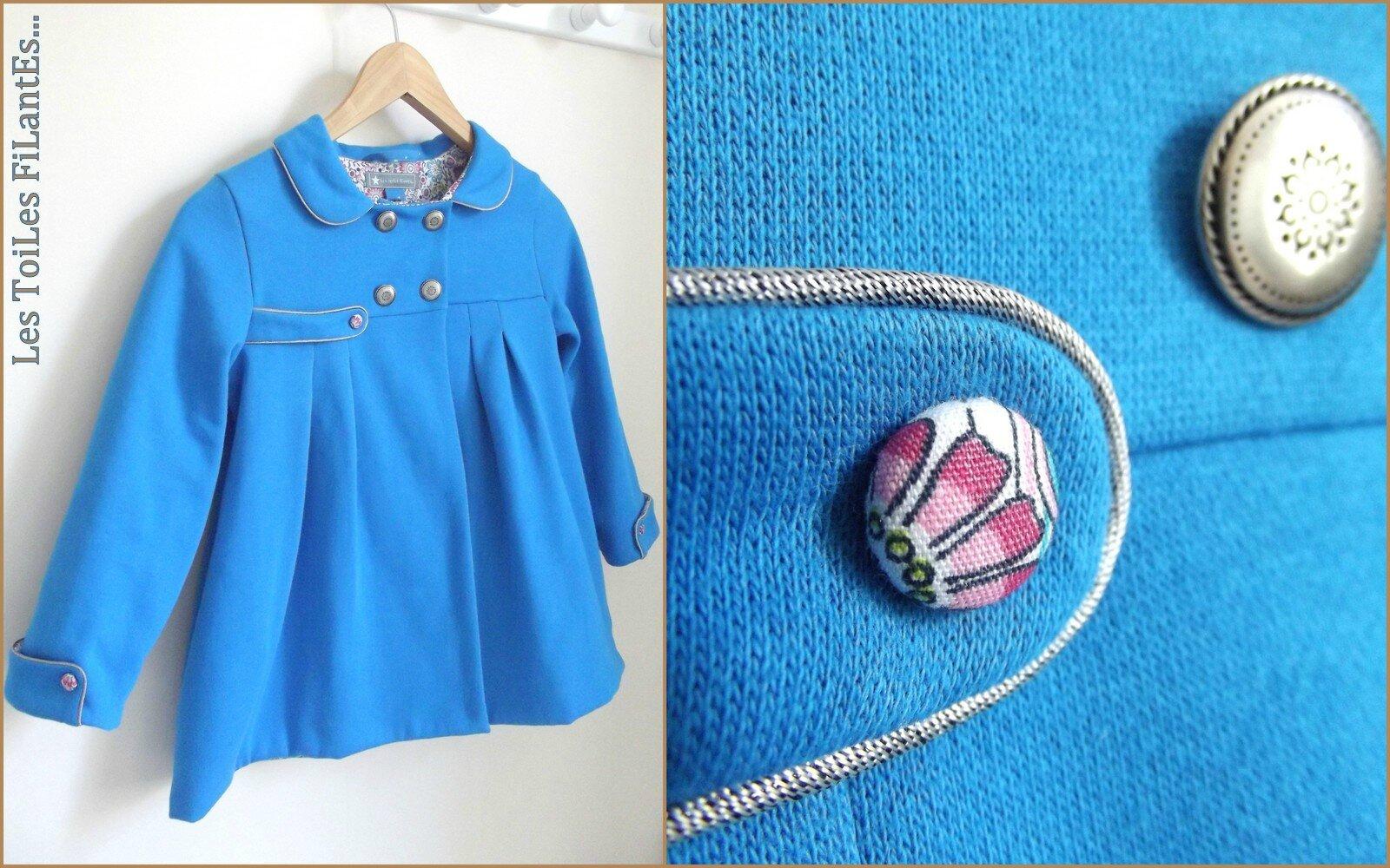 Vesta Agatha bleu de Cobalt7