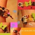bracelet bric-broc....si ça vous dit, dans les tons que vous aimez. modèle unique, stricte ou plus fou-fou. 15 euros frais de port inclus.