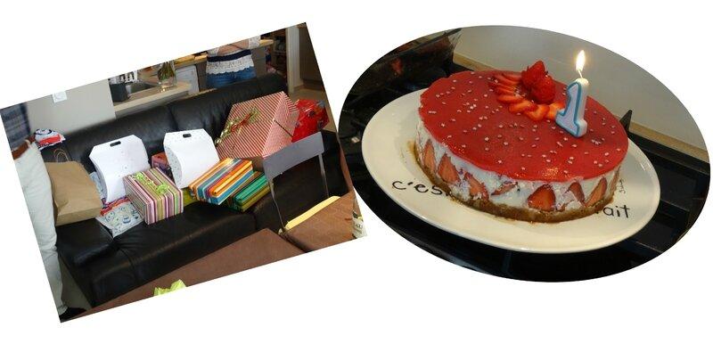 Cadeaux + Gâteau