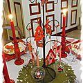 Table de Noël 127
