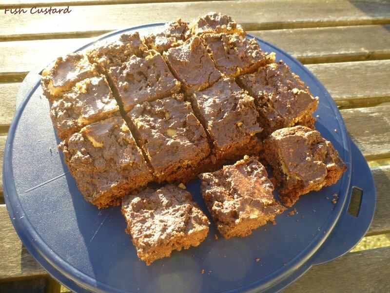 Brownie au chocolat et beurre de cacahuète (4)