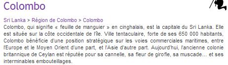 COLOMBO - 1