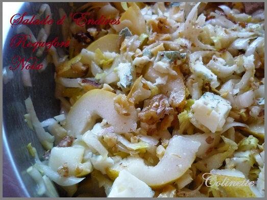 salade de chicons roquefort et noix 002