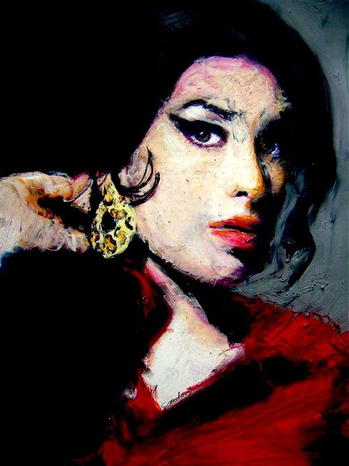 Amy, portrait 65X46cm on canvas