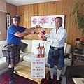 Highland games et chateau marzin: l'important c'est le rosé