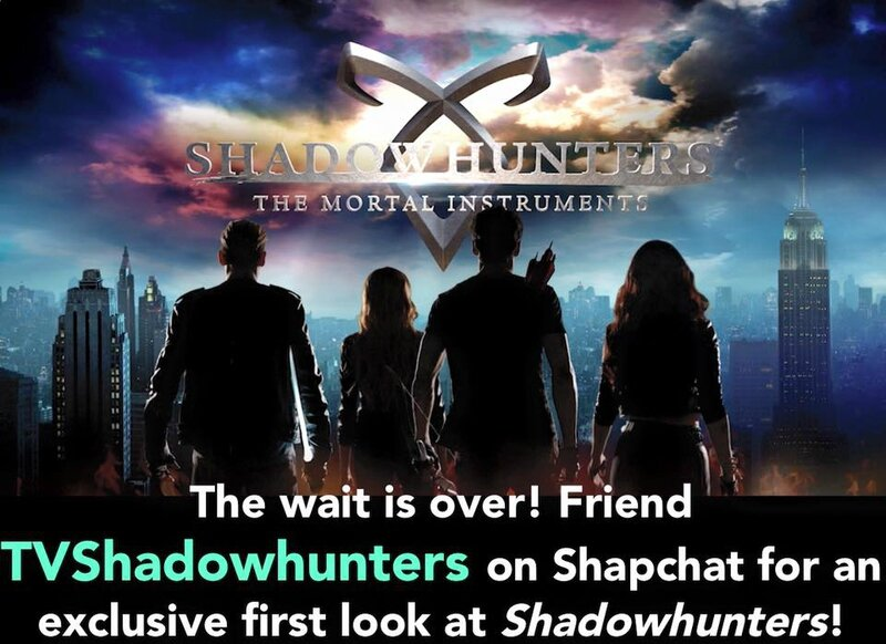 tv shadowhunters