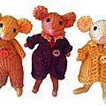 Petite famille de souris