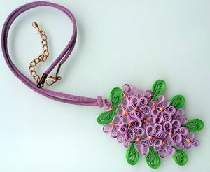 collier quil lilas 2