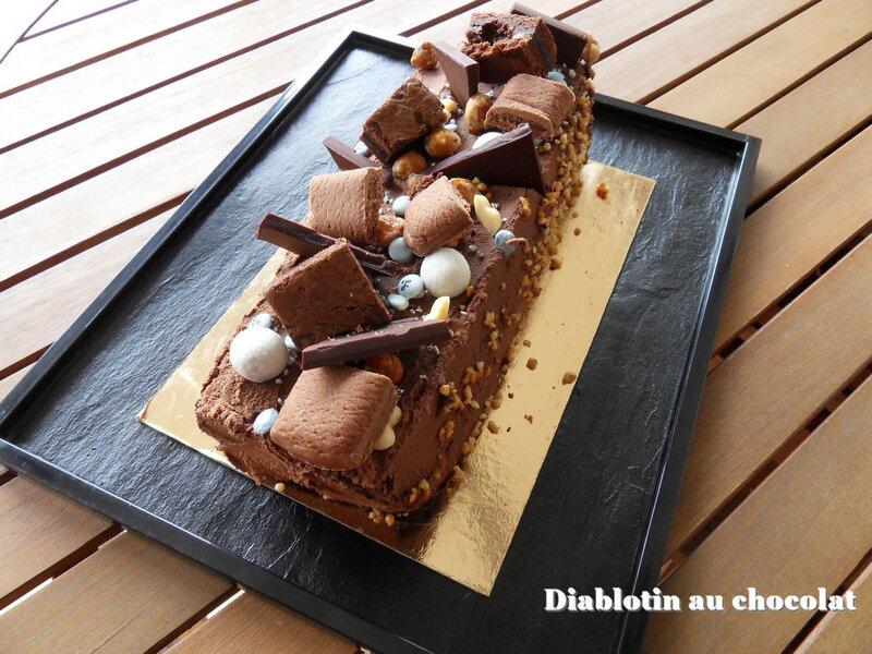 diablotin au chocolat