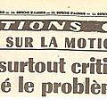 Motion de censure du 5 juin 1962
