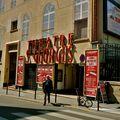 Le théâtre Saint-Georges.