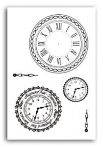 tampons crystal horloges