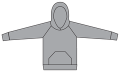 Papercut Patterns - Undercover Hood j