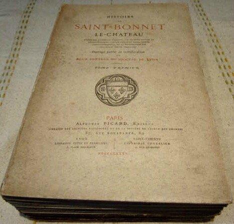 Histoire Saint-Bonnet-le-Château (1)