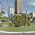 Rond-point à tramandai (brésil)