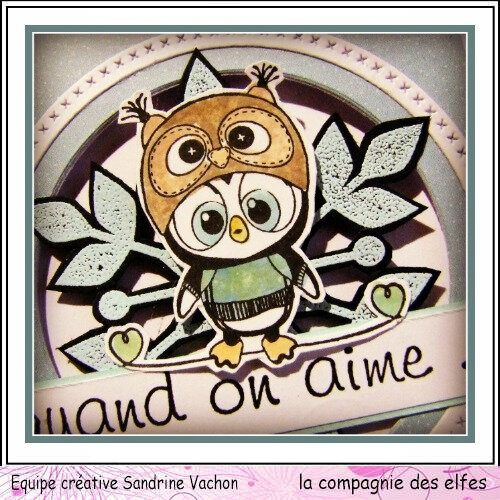 Sandrine VACHON carte QUAND ON AIME