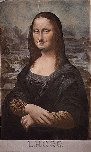 LHOOQ- Duchamp