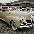 Chevrolet fleetmaster convertible-1947