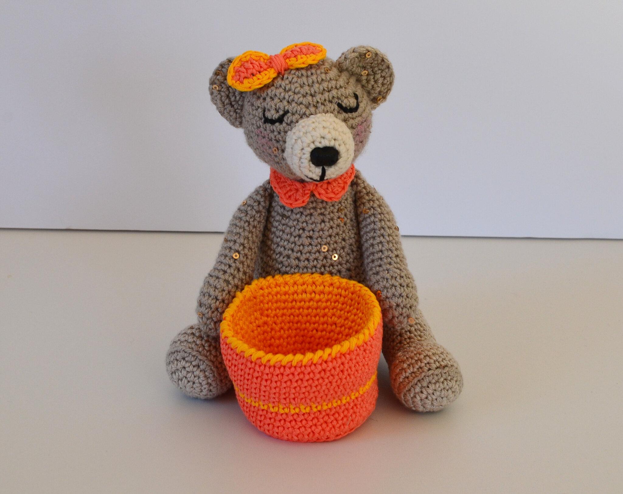 Pimprenelle- ours- crochet- laine (2)