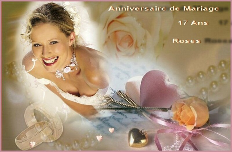 anniversaire mariage roses
