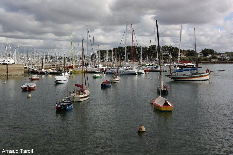 001407 Larmor-Baden - Le Port de Plaisance de la Trinité-sur-Mer