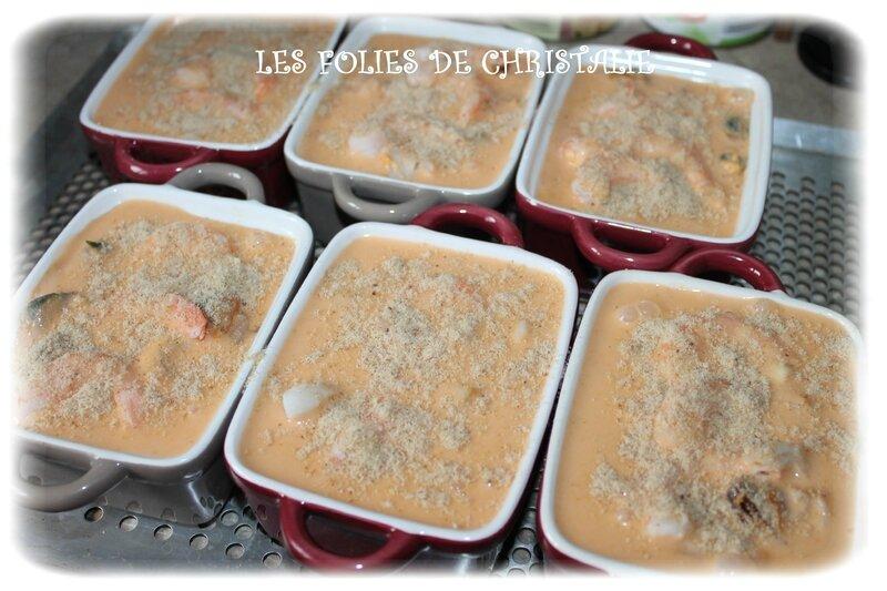 Cassolettes fruits de mer 6