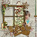 Grand kit de noel xmas old cookie
