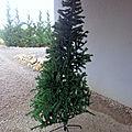 Création d'un arbre de noël