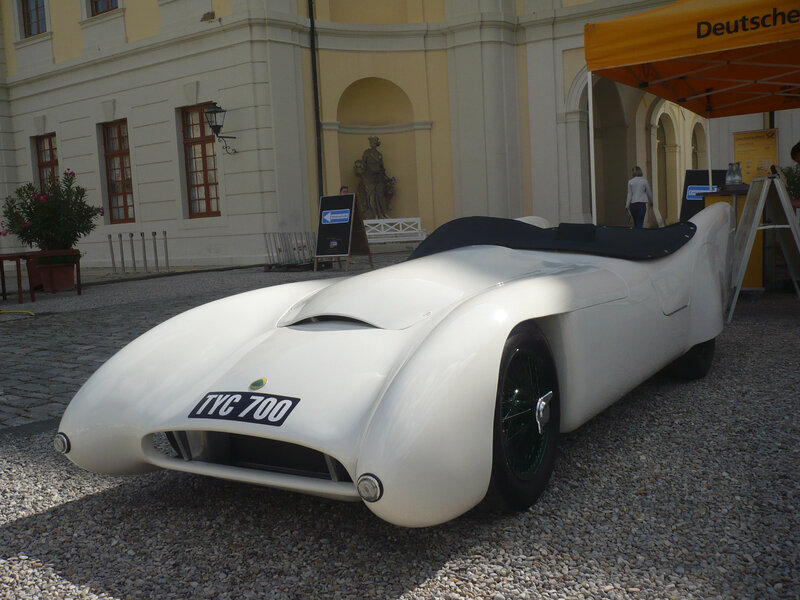 LOTUS Mk VIII Open Two Seater Sportscar 1955 Ludwigsburg (1)