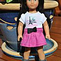 Gracie - Mini American Girl - 17 cm