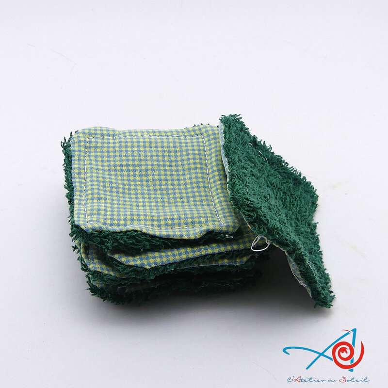 Lingettes démaquillantes maison - home-made cleansing wipes