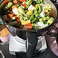 Soupe velouté de légumes variés anti-gaspi