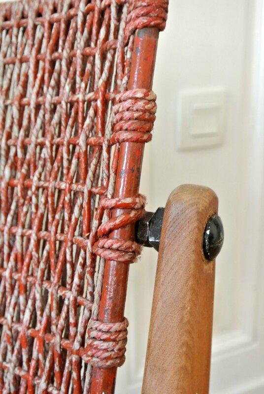 fauteuil moderniste corde 5