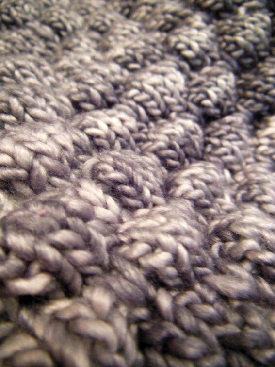 Snood en Graine de laine 1-3