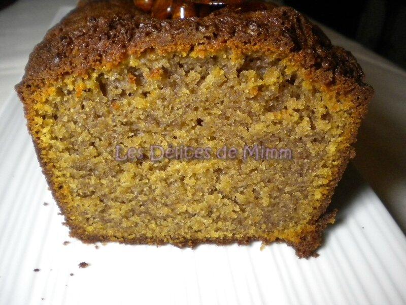 Cake moelleux et fondant à la farine de châtaignes 5
